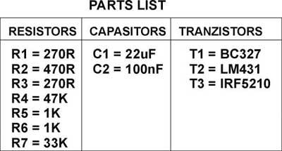 parts-list-regulator